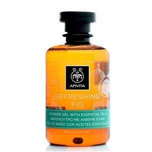 APIVITA REFRESHING FIG Shower Gel with Essential Oils with Fig 300ml