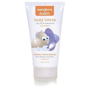MACROVITA BABIES body lotion oat oil & camomile 150ml