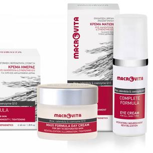 MACROVITA MAXI SET: day cream for dry to dehydrated skin 40ml + eye cream 30ml