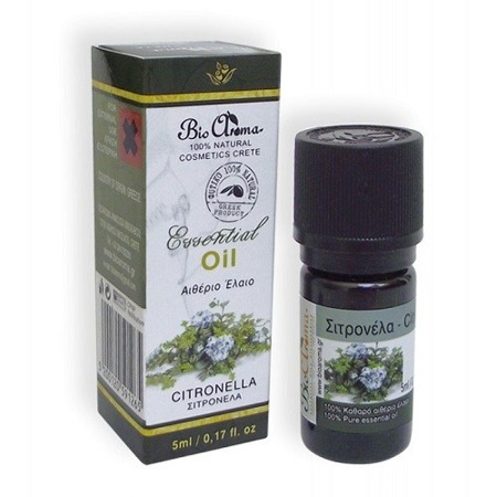BioAroma CITRONELLA essential oil 100% natural 5ml