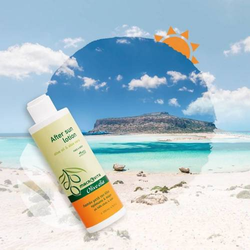 MACROVITA OLIVE-ELIA After Sun Lotion olive oil & aloe vera 200ml