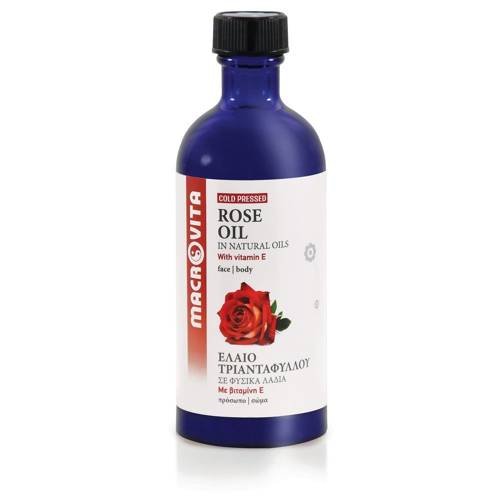 MACROVITA ROSE OIL in natural oils with vitamin E 100ml