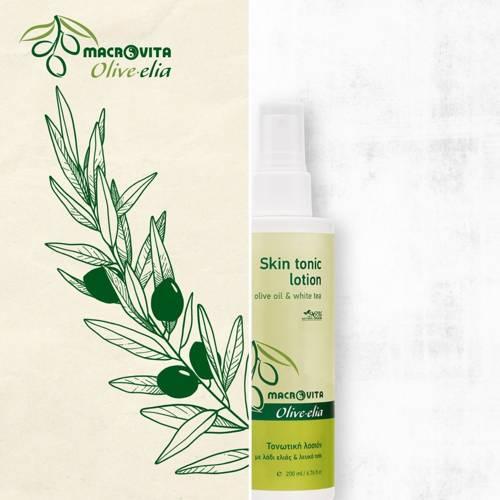 MACROVITA OLIVE-ELIA tonik oczyszczający do twarzy z bio-składnikami 200ml